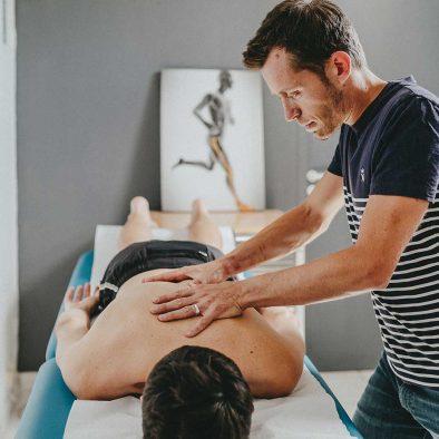 Massage sportif avec NFysio